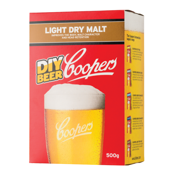 COOPERS LIGHT DRY MALT, Coopers