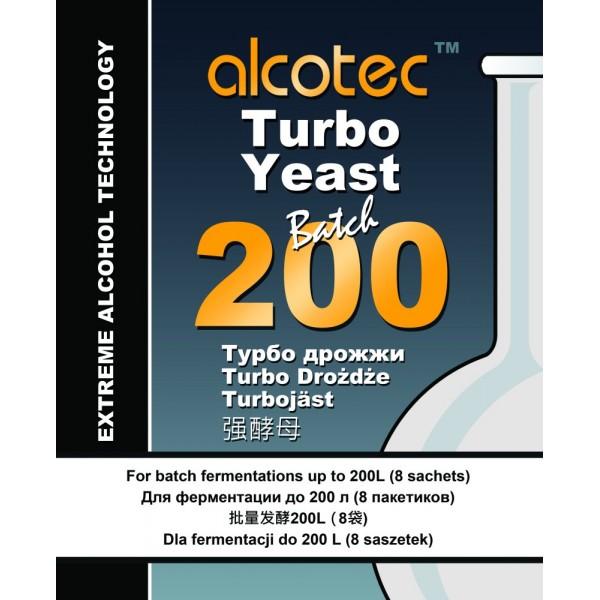 Дрожжи Alcotec 200 Batch Turbo