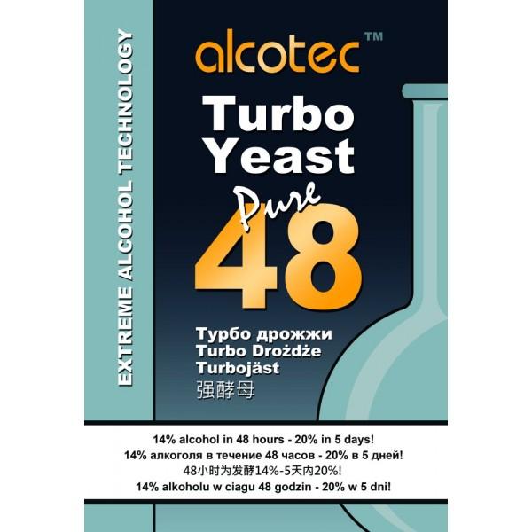 Дрожжи Alcotec 48 Turbo